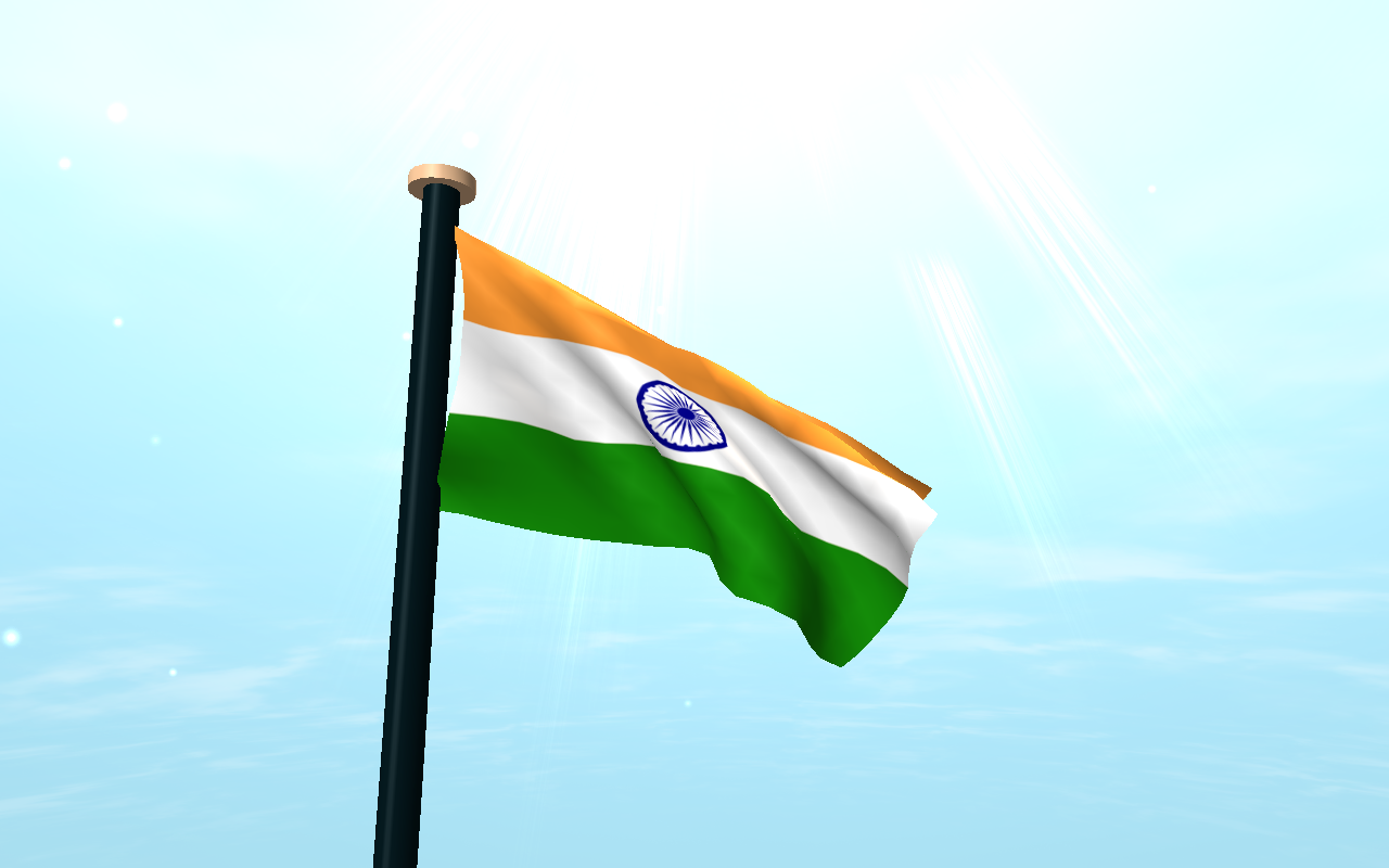 India Flag 3D Free Wallpaper - Android Apps on Google Play Indian Flag Animated Wallpaper 3d
