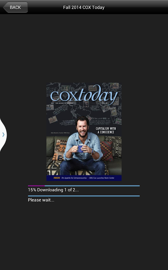 CoxToday- screenshot