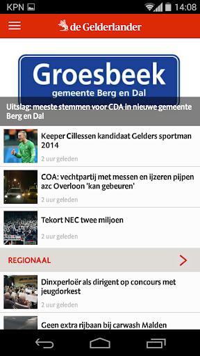 De Gelderlander nieuws