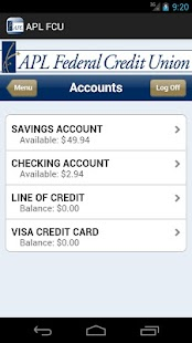 APL Federal Credit Union - screenshot thumbnail