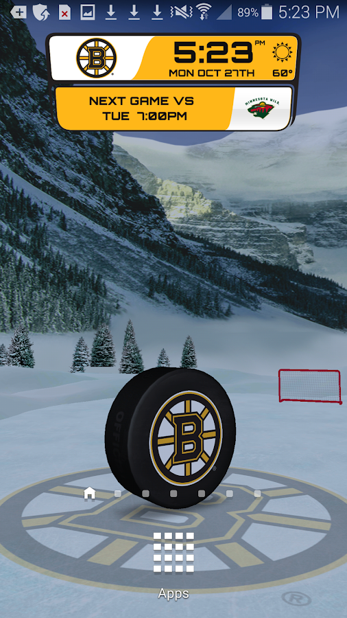 NHL 2015 Live Wallpaper - screenshot
