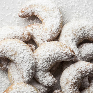 Monajean's Almond Crescents