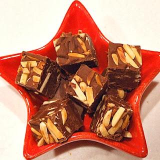 Chocolate- Toasted Almond Fudge