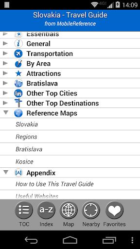 Slovakia - FREE Guide Map