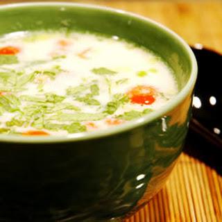 Tom Ka Gai (Coconut Chicken Soup).