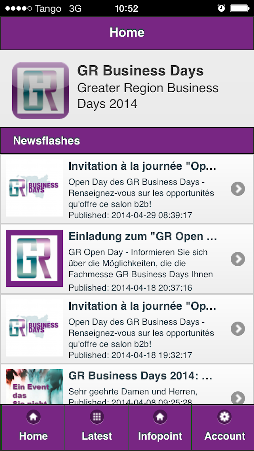 GR Business Days- screenshot