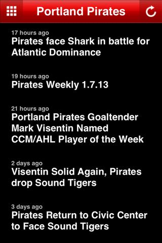 Portland Pirates - screenshot