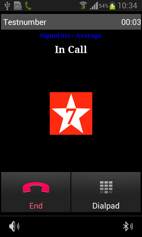 7StarCall Dialer- screenshot