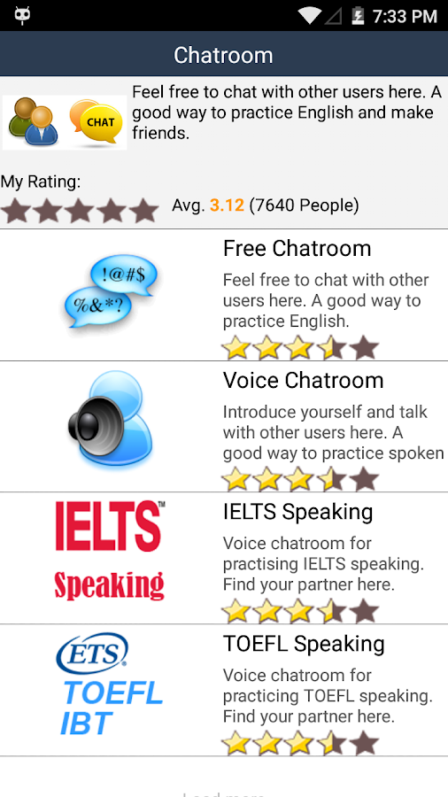 English Radio - IELTS TOEFL- screenshot