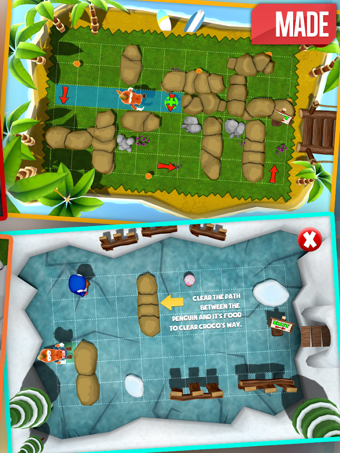 Croco's Escape - screenshot