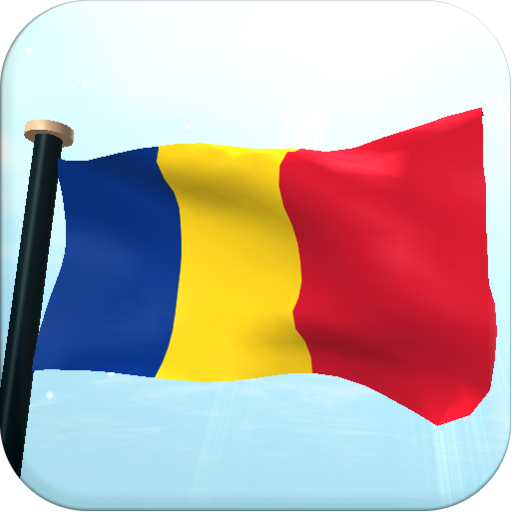 Romania Flag 3D Free Wallpaper