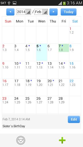 【免費生活App】農曆日記-APP點子