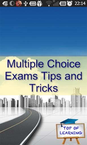 Quiz MCQ Tip Exam Strategy