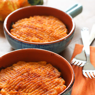 Sweet Potato Turkey Shepherd's Pie