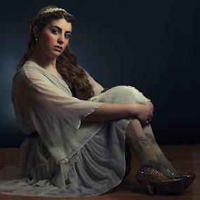 Dana Sparkle Shoes by Jeff Klein - People Portraits of Women ( studio, shoes, fashion, girl, female, portrait )