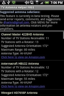 TV Antenna Helper FREE- screenshot thumbnail
