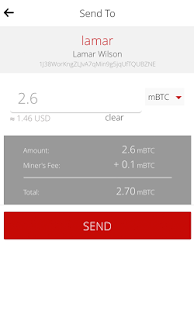 Pheeva Bitcoin Wallet- screenshot thumbnail