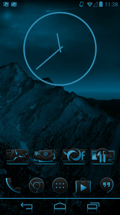 JB Extreme Theme CM11 AOKP - screenshot
