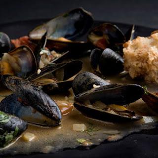 Mussels with Garam Masala