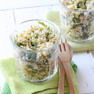 Gourmet Cereal Salad with Chicken and Crisp Vegetables