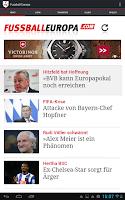 Screenshot of Fussball Europa