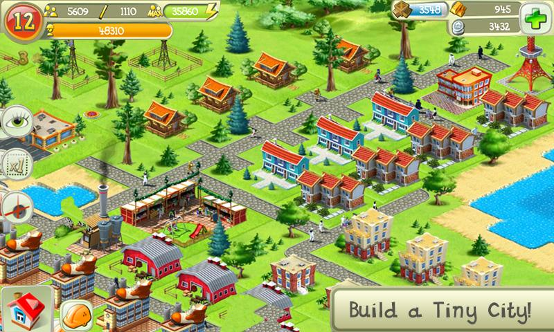Tiny City - screenshot