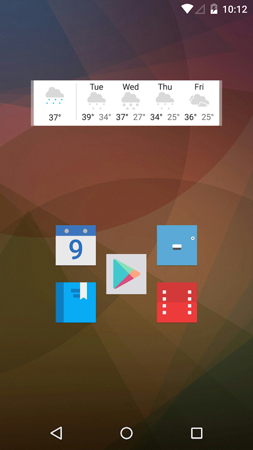 Stark - Icon Pack- screenshot