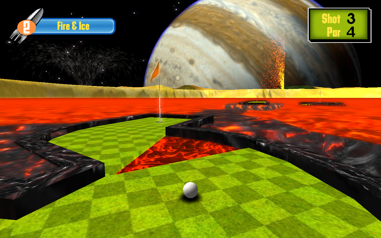 Putt the Planets- screenshot