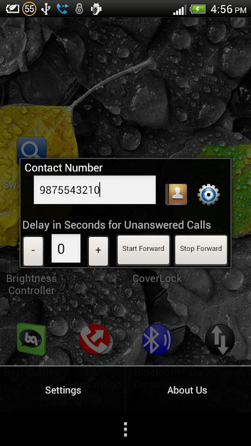 Call Forwarding- screenshot