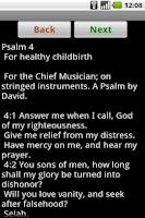 Screenshot of Tehillim (English)