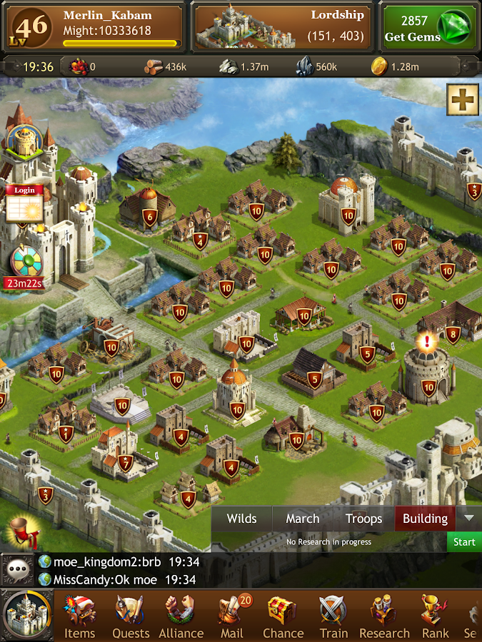 Kingdoms of Camelot: Battle- screenshot