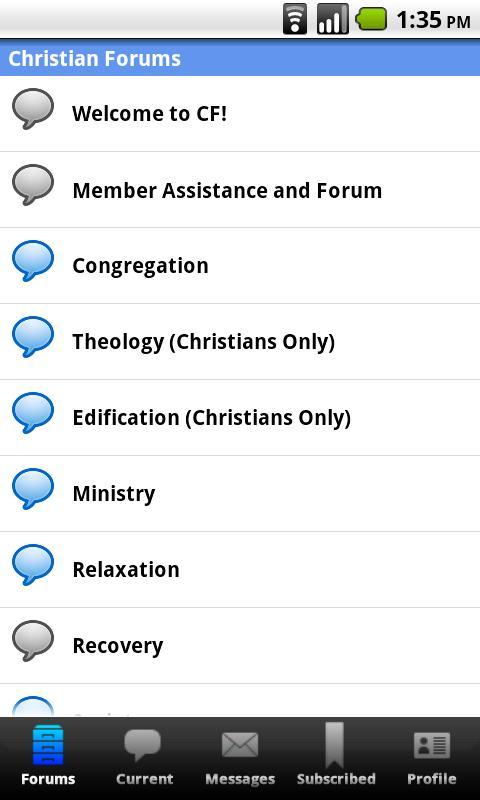 Christian Forums - screenshot
