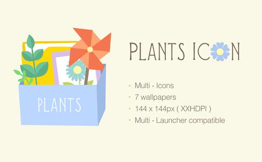 Plants - Icon pack theme