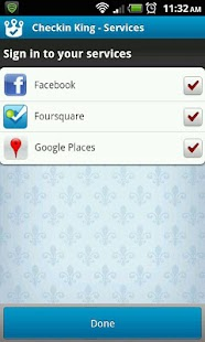 Checkin King for Facebook, 4SQ - screenshot thumbnail