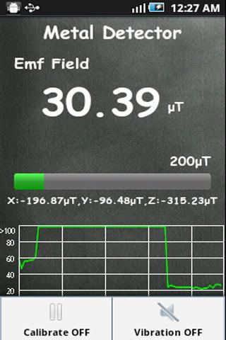 Metal Detector Sensor - screenshot