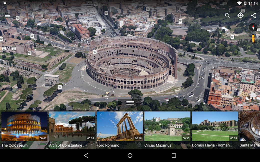 #12. Google Earth (Android)