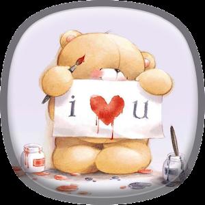 泰迪熊動態壁紙 個人化 App LOGO-APP試玩