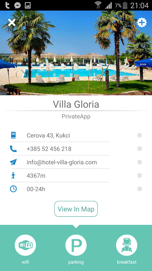 Find in - Porec - screenshot