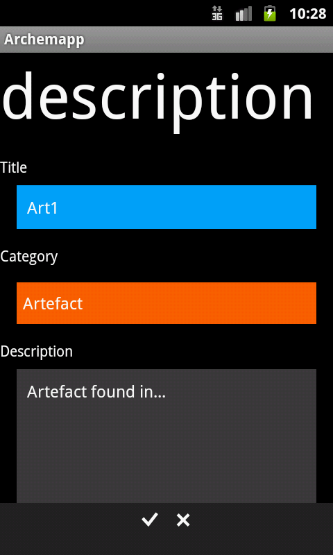 Archemapp- screenshot