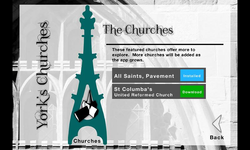 York Churches- screenshot