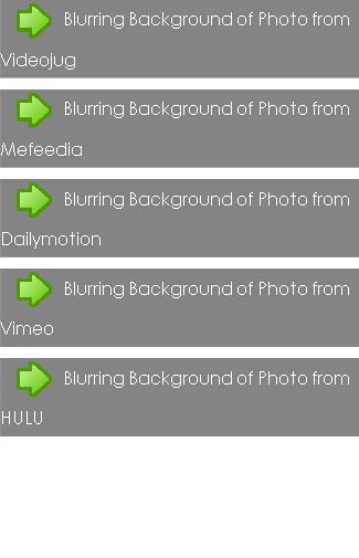 Blurring Background of Photo