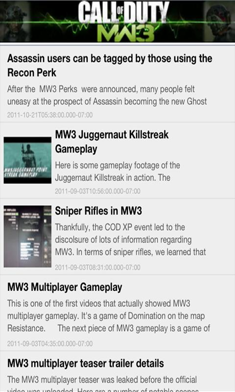 MW3 Game Play Exposed - screenshot