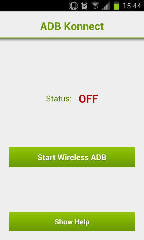 ADB Konnect (wireless ADB)- screenshot