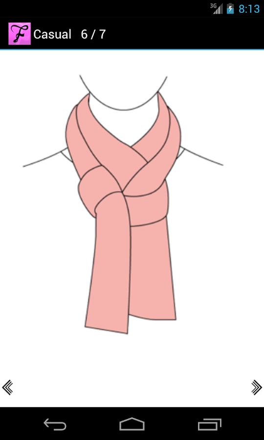 Scarf Fashion Designer Free- screenshot