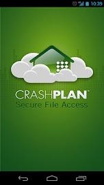 CrashPlan Screenshot 1