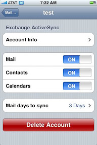 iphone remove email account iphone how to remove an exchange email account from the 15373