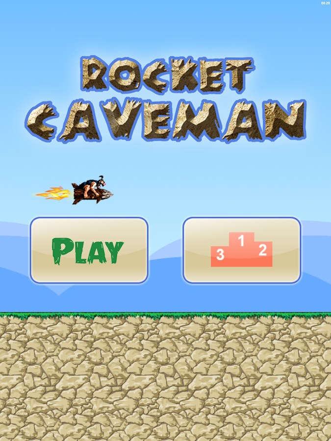 Rocket Caveman- screenshot