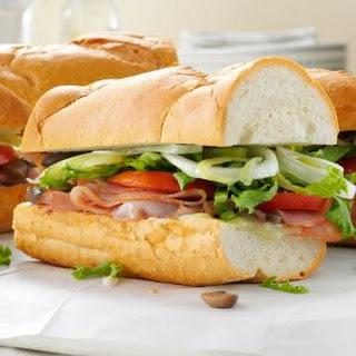 Summer Sub Sandwich.