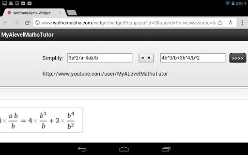 Simplify Expression Calculator