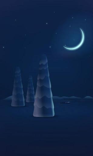 雪夜圣诞动态壁纸